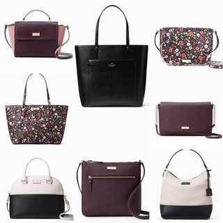 Time Sales! Authentic Kate Spade Leather Sling Bags