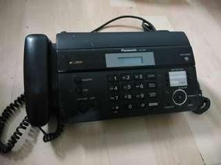 Panasonic fax machine