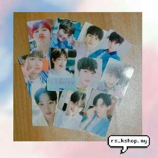 [READYSTOCK] WANNA ONE SUMMER PACKAGE SELFIE PHOTOCARD(LIMITED)