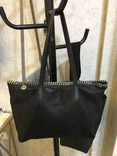 Stella McCartney Falabella Tote- Black