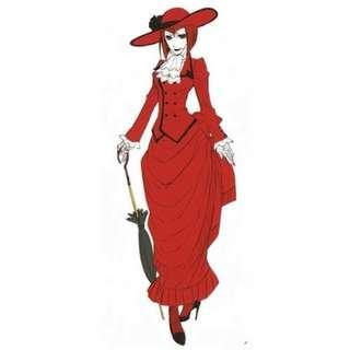 madam red costume