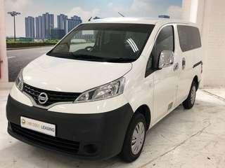 Latest Euro 6 Nissan NV200 1.6 Automatic. Comes With 4 Pieces Rear Glass Panel.spacer Comes with rear sofa