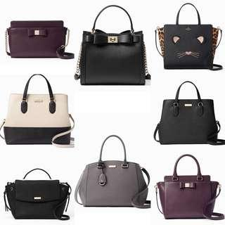 Time Sales! Authentic Kate Spade Sling Leather Bags