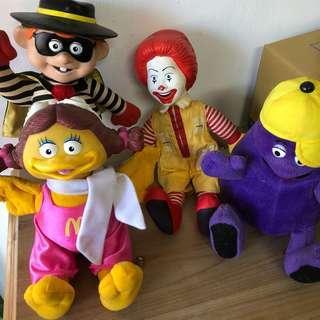 🚚 讓藏了 麥當勞公仔玩具