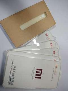 Redmi 2 tempered glass and case
