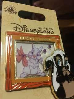迪士尼經典動畫系列徽章 Disney pin  flower