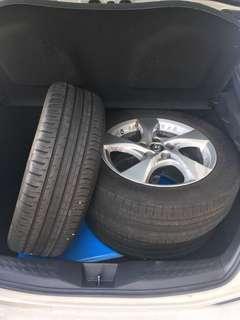 "CHR Original Tyre Rim 17"""