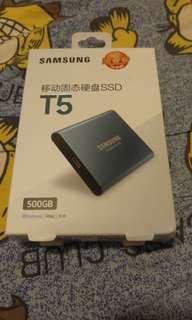 SAMSUNG T5 USB-C 3.1 Gen2 500GB SSD
