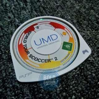 World Tour Soccer 2  UMD Game for Sony PSP Playstation Portable