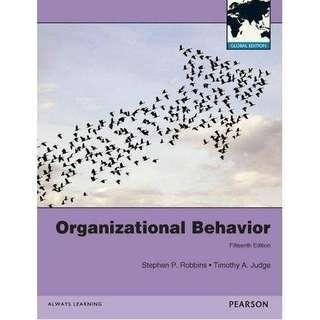 organizational behavior 15e 組織行為 (含運)