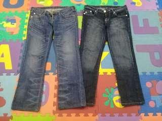 combo Levis Jeans victoria beckham for rock & republic jeans
