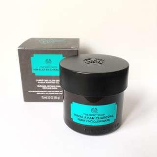 HIMALAYAN CHARCOAL THE BODY SHOP MASK