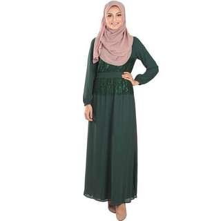 Poplook rhonda lace maxi dress