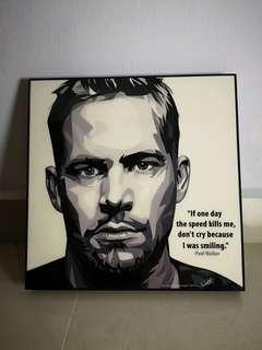 Paul Walker Pop Art
