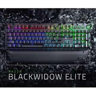 Razer Blackwidow Elite (Green switches only)