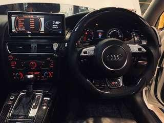 AUDI A4 A5 Q5 B8 B8.5 8T 8K 8R 10.25 Android 7.1 2GB RAM 32GB ROM MMI SYMPHONY 2G WITH INSTALL + REVERSE CAMERA + FREQUENCY FIRMWARE UPGRADE  + OBD FUNCTION READY BY BLUETOOTH