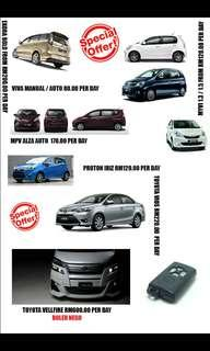 CAR RENTAL LUXURY AND COMPACT CAR