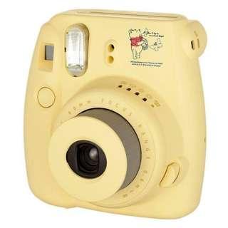 Fujifilm Instax mini 8 即影即有相機 限量版 Winnie the pooh