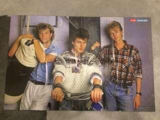 Vintage 80s poster