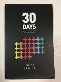 30 Days (practical introduction to reading the Bible) by Nicky Gumbel