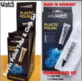 Premium Polywatch Polish scratches remover watch