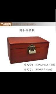 Pre order wooden Storage Box