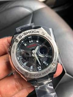 Rare Casio Gsteel Gshock Brand NEW 100% Authentic GSTS110 Tough Solar with FREE DELIVERY 📦 G-Shock Steel