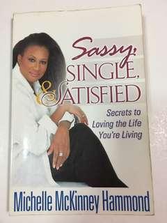 Sassy, Single & Satisfied by Michelle McKinney Hammond
