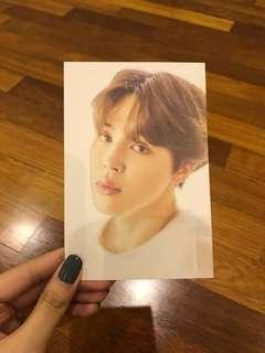 (WTS) BTS exhibition merch jimin postcard
