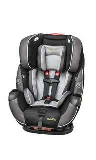 Brand New Evenflo Symphony Elite All-In-One Convertible Car Seat, Paramount