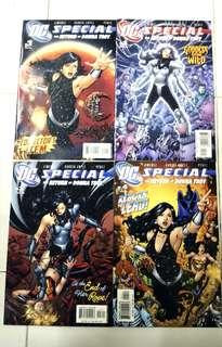 DC COMICS SPECIAL THE RETURN OF DONNA TROY SET #1-4 COMPLETE