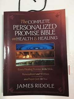 The Complete Personalized Promise Bible on Health & Healing by James Riddle