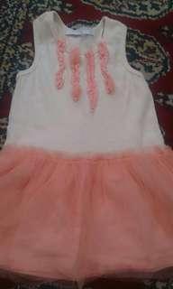 GINGERSNAP TUTU DRESS 12-24M