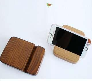 Wooden Phone stand / phone holder