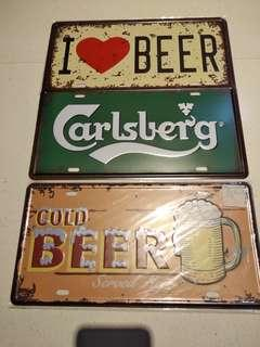 Metal Sign Display Classic Vintage style Brand New Beer
