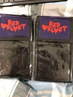 Red Velvet red mare wallet bag ticket holder