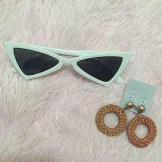 Bundles sunnies with earrings