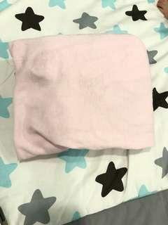 Candide fitted sheet pink