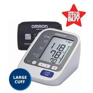 🚚 New Stock! - Large Cuff - Automatic Omron BP Monitor - HEM 7130 L - 60 Memories with Date and Time - Brand New