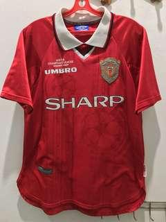 *Rare* Manchester United 1999 UCL 2 ⭐️ Home Kit