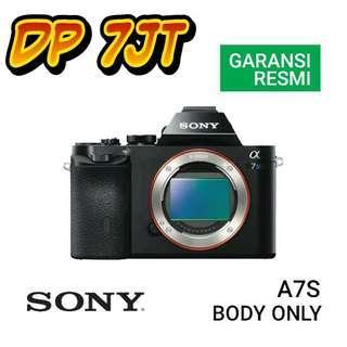 Kredit Sony A7S Body Kamera Wilayah Bandung