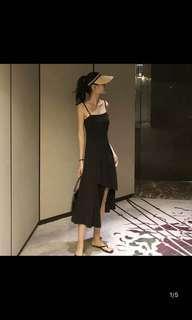 🚚 不規則時尚拼接連衣裙