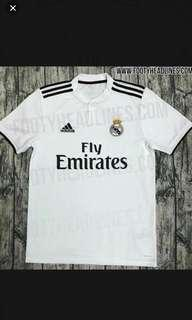 Real Madrid Home Kit Size S 18/19