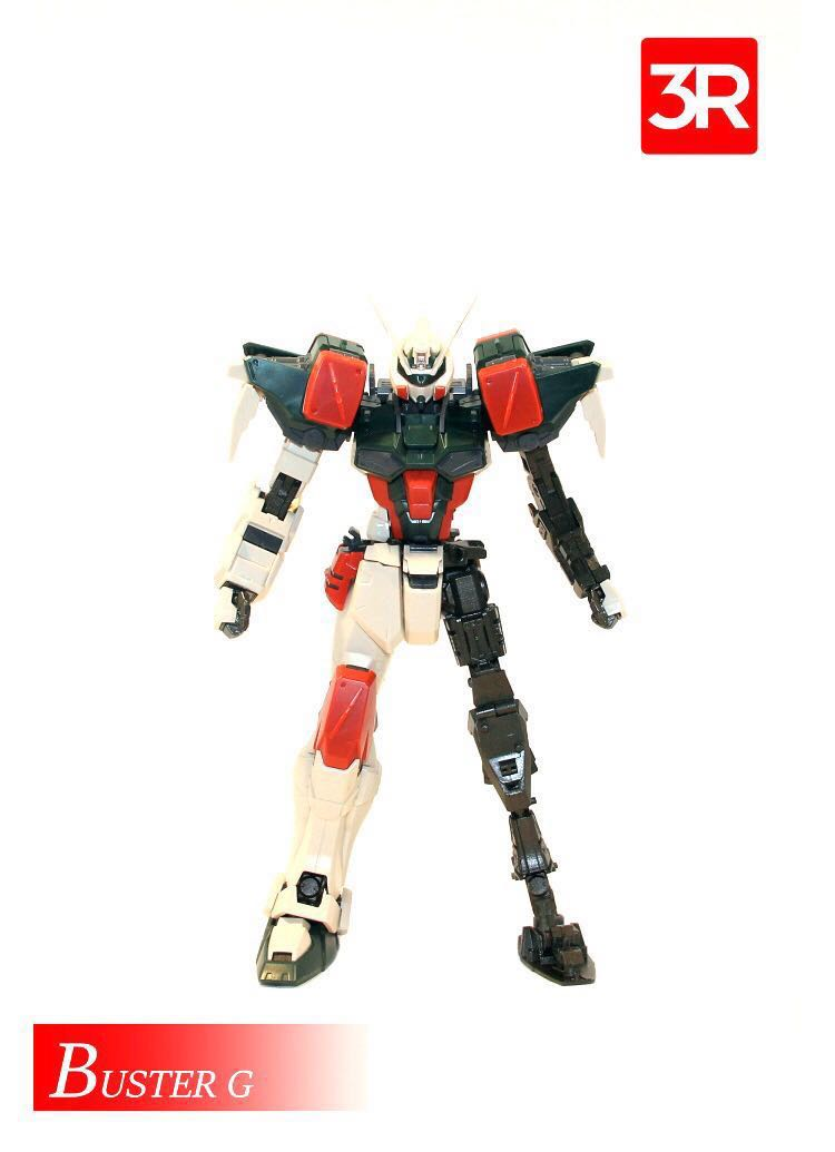 3R Metal Frame for MG/RM Strike/Buster/Blitz/Duel, Toys & Games ...