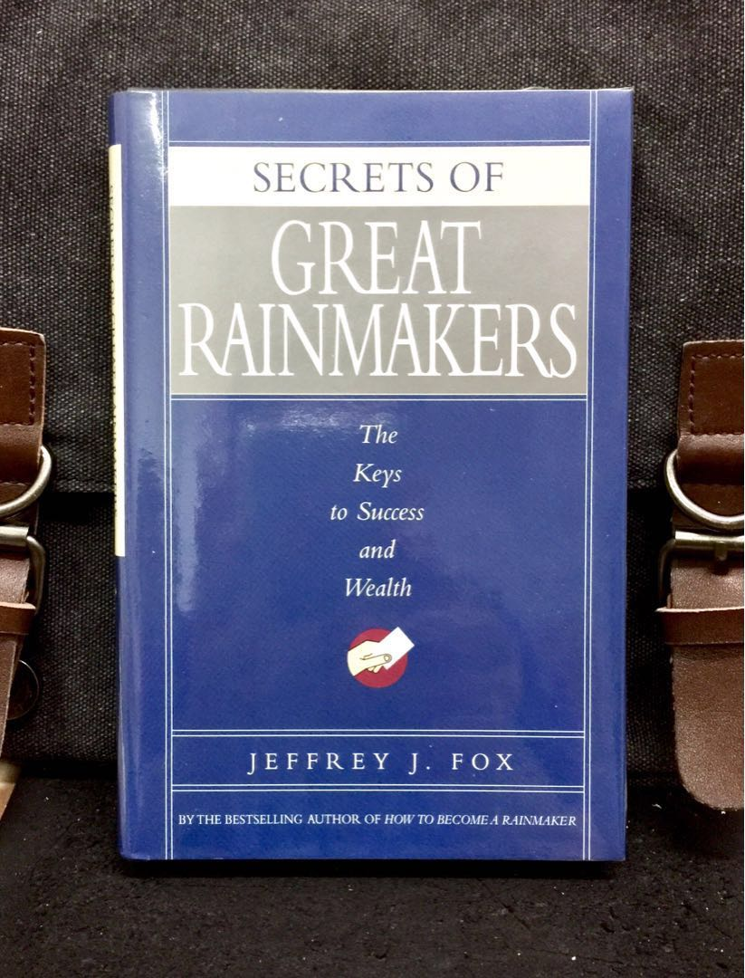 # Highly Recommended《Hardcover Edition + The Secrets & Difference Between  Rainmaker & Ordinary Sales Person》Jeffrey J  Fox - SECRETS OF GREAT