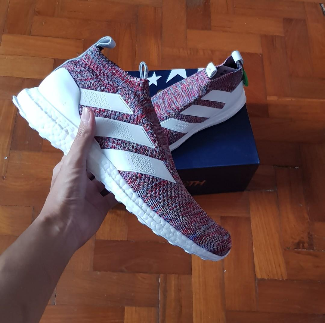 online retailer 0f078 8ce09 ADIDAS COPA ACE 16+ PURECONTROL ULTRABOOST KITH GOLDEN GOAL ...