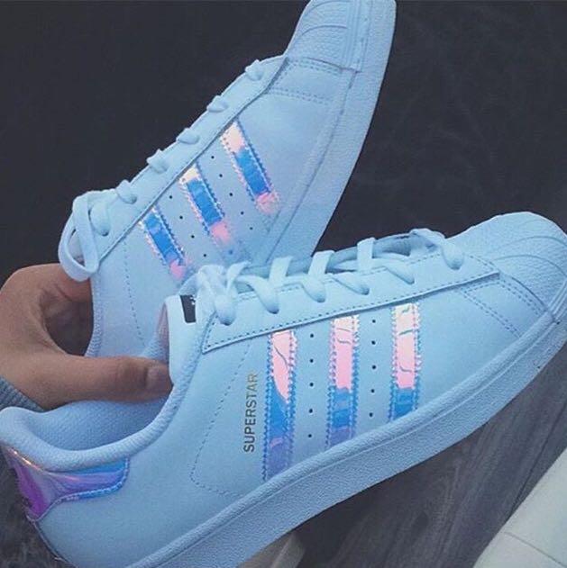 Adidas Superstar Hologram/Holographic