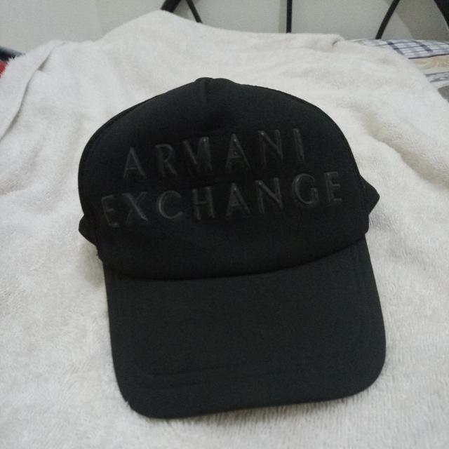 cc6bc749e Armani Exchange Cap, Men's Fashion, Accessories, Caps & Hats on ...