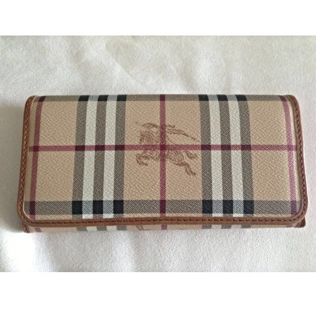 ... authentic burberry haymarket wallet price reduced luxury on carou ... 9cf0d4f41c646
