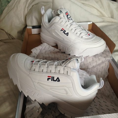 51066e034df4 AUTHENTIC fila disruptor II shoe sneakers.